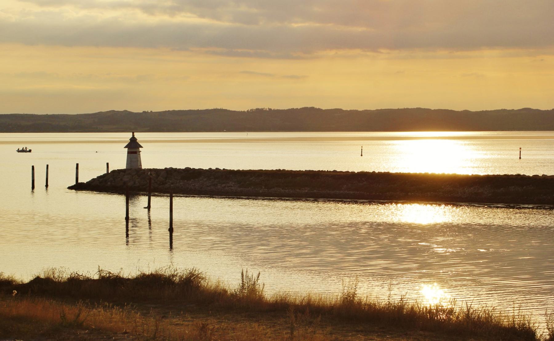 Sunset at Ebeltoft Bay 2