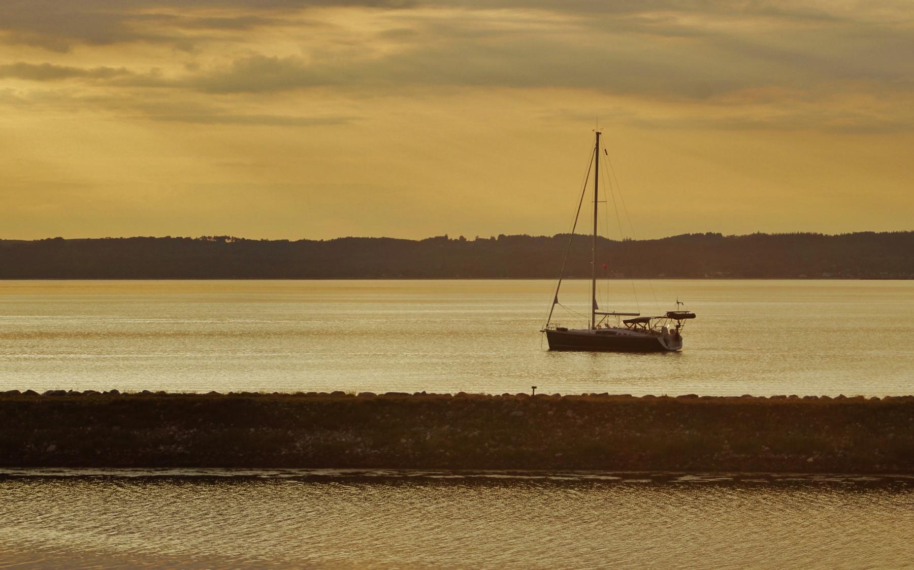 Sunset at Ebeltoft Bay 3