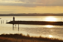 Sunset at Ebeltoft Bay 2