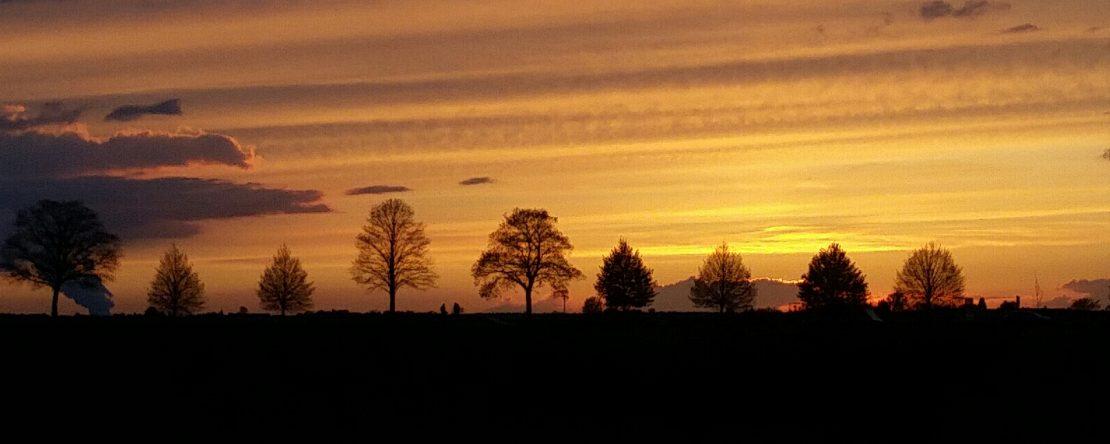 Sunset in Lechenich